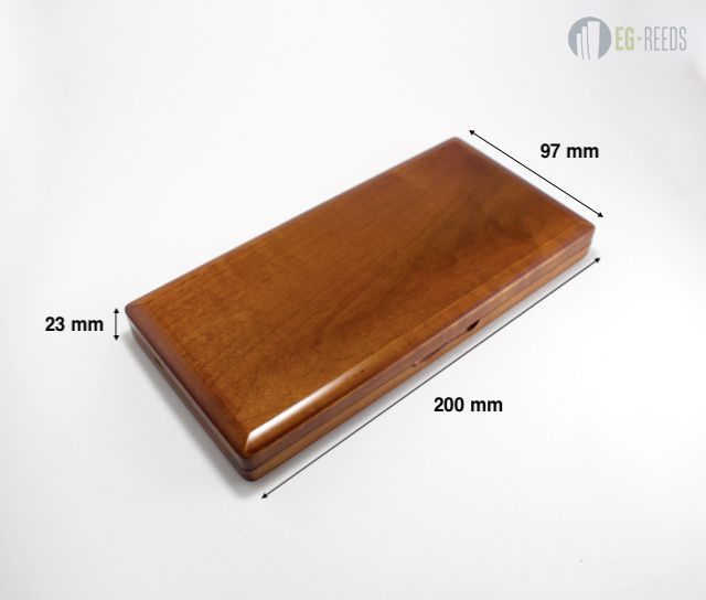 Oboe Reed Case Wood Carry Box for 40pcs Oboe Reeds